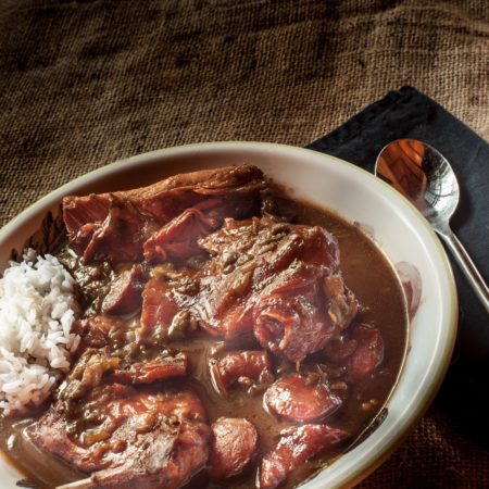 Smoked Rabbit Gumbo