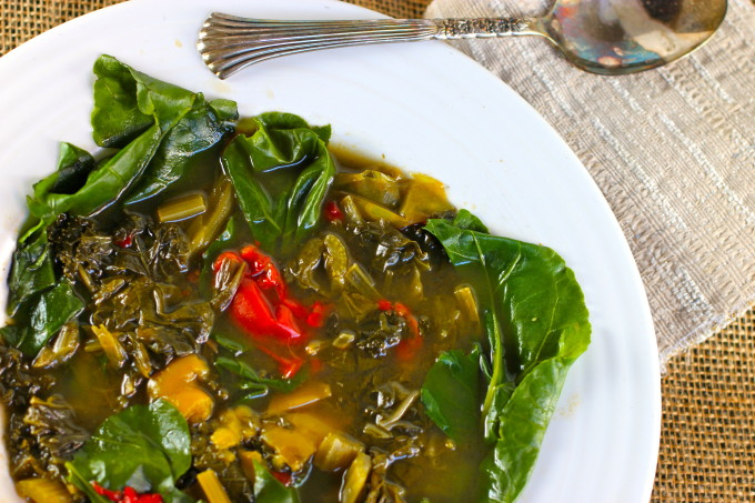 Gumbo Z'herbes Recipe- A classic Cajun and Creole recipe.