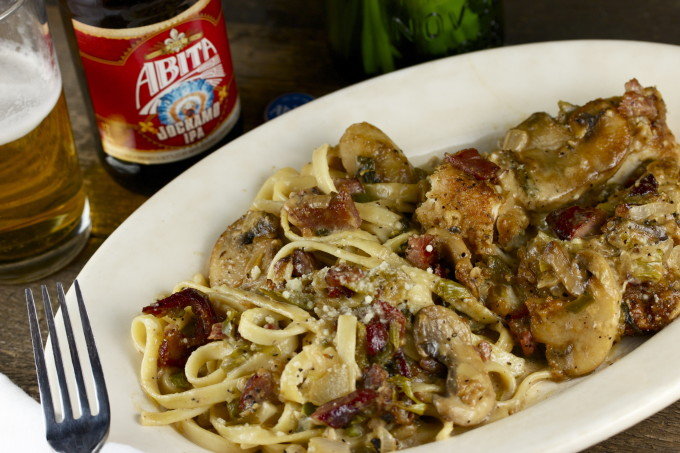Jockamo Chicken with Fettuccine - A Cajun Recipe