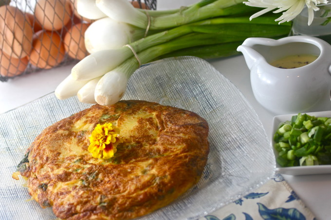 Frittata recipe; Cajun cooking at its best.