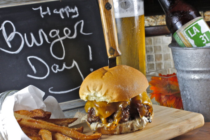 Short Rib Burger--one of my favorite Cajun recipes.