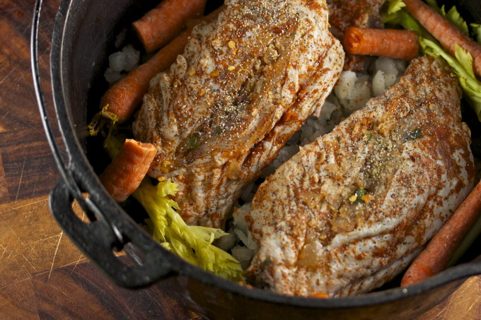 stuffed turkey wings is a Cajun recipe favorite.