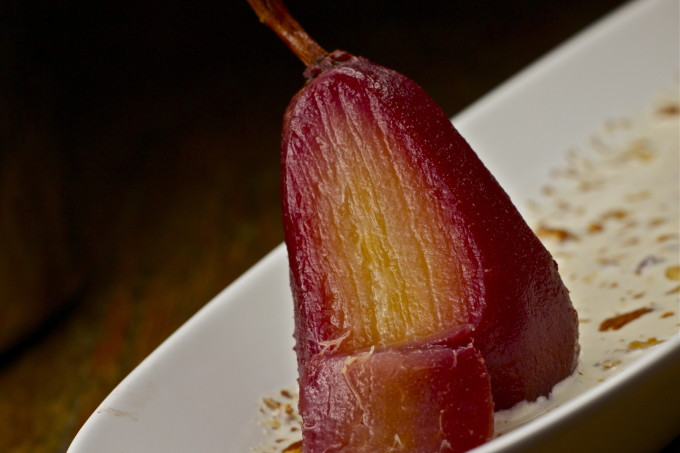 Poached pears are one of my favorite Cajun recipes in my Cajun cooking collection of recipes.