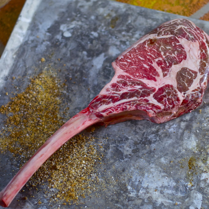 bone-in ribeye is a common Cajun recipe ingredient.