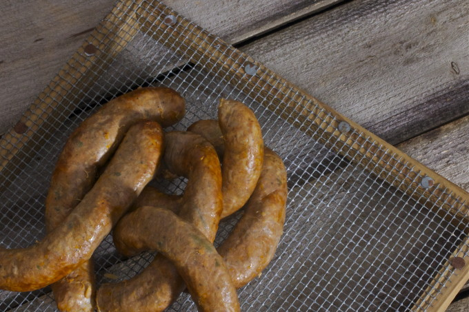 Cajun boudin links are a Cajun recipe seen throughout Acadiana.