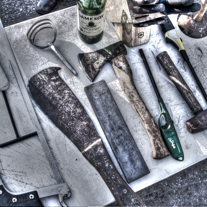Tools of the Boucherie