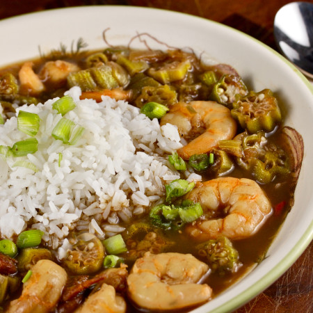 Shrimp and Okra Gumbo