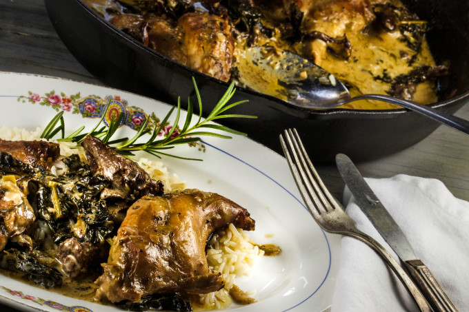 Mustard-Braised Rabbit is a classic Cajun recipe, too.