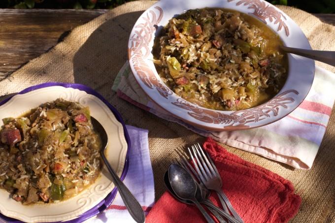Cabbage Jambalaya – the perfect New Year's dish. (All photos ...