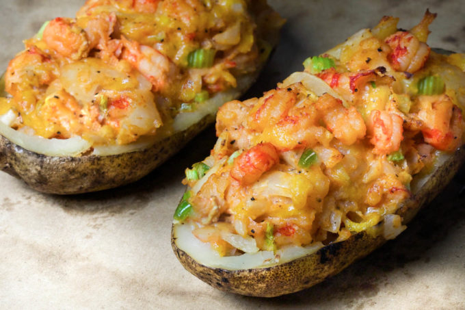 Crawfish Baked Potato | Baked Potato Recipes To Drool Over