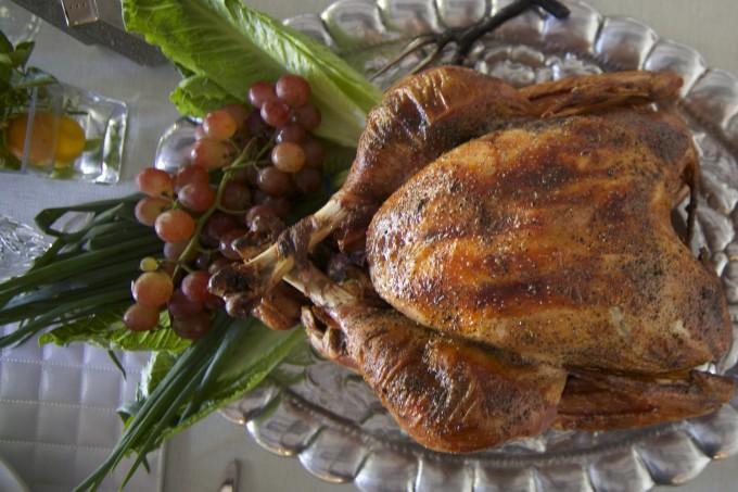 Cane-Brined Roast Turkey takes a Cajun recipe turn in this recipe.