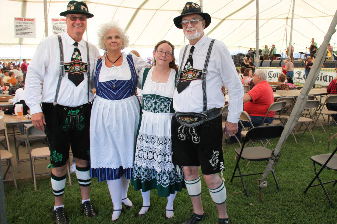 Germanfest is a testament to the proud German heritage of Roberts Cove, Louisiana.