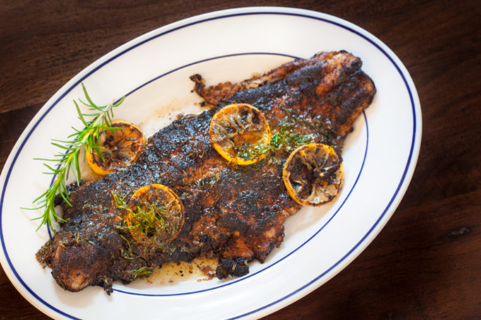 Blackened catfish is a classic Cajun recipe. (All photos credit: George Graham)