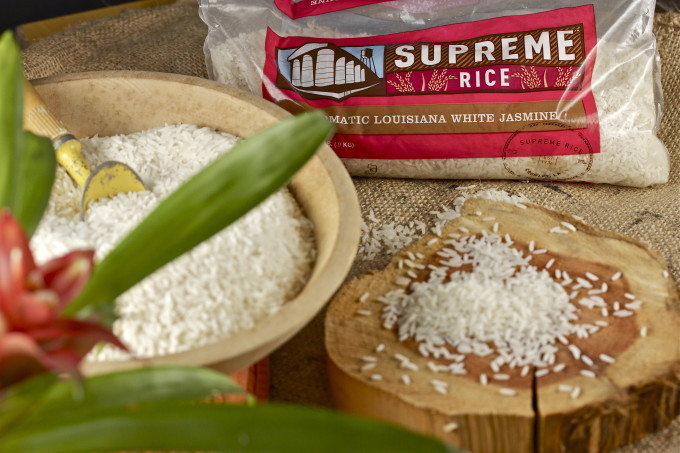 My new favorite: Supreme white jasmine rice. Give it a try with this Crisp Chicken Thighs recipe.