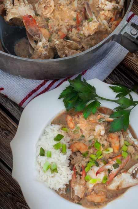 Crab Étouffée: A time-honored Cajun recipe handed down to the next generation of great Cajun cooks.