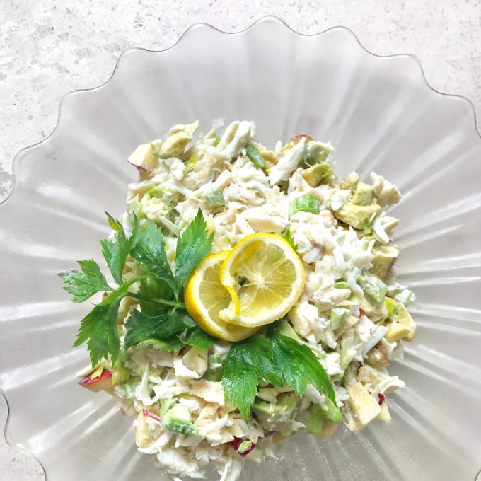Crabmeat Salad is a Cajun classic.