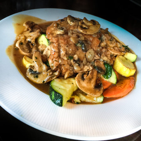 With a velvety sauce, this Chicken Marsala defines classic Italian cooking.  (All photos credit: George Graham)
