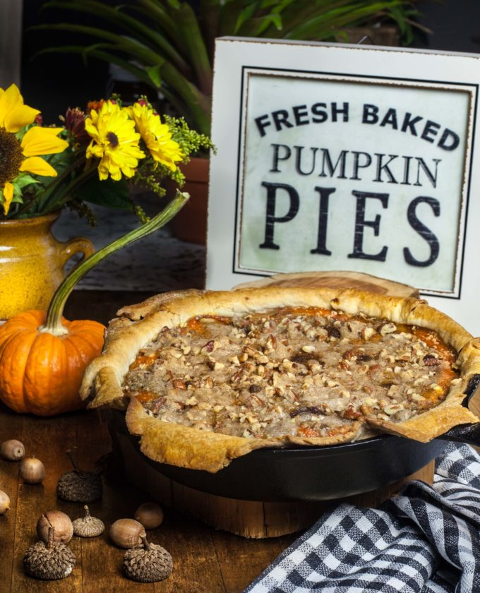 Give this easy Praline Pumpkin Pie a try!
