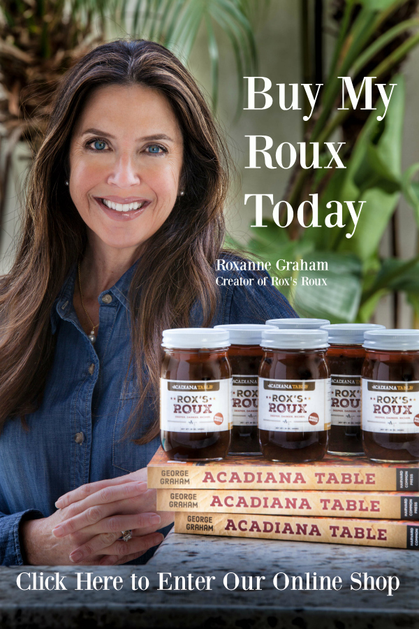 Rox's Roux Sampling – The Fresh Market – Saturday, Dec. 14 from 11-1pm in Mandeville, LA
