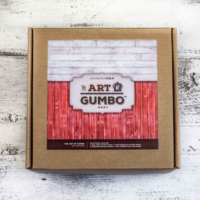 Creatively designed and securely packaged, The Art of Gumbo is an impressive gift.