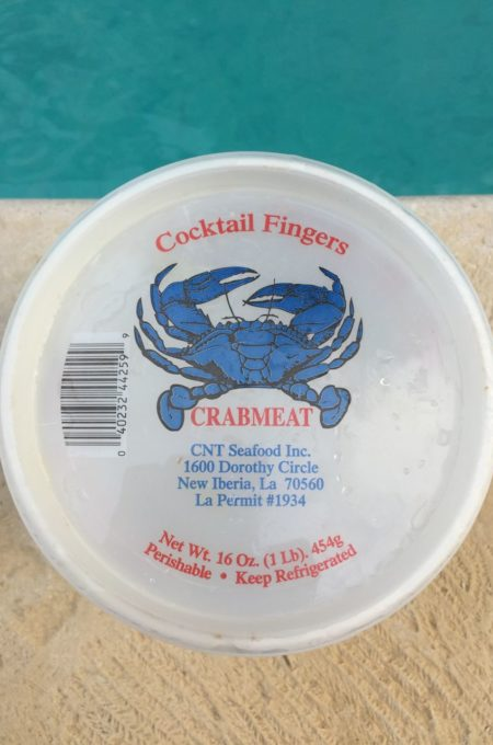 Sometimes called cocktail fingers, crab claws are a Louisiana delicacy.