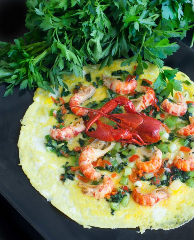 Try this Crawfish Omelette and explore new flavors in a tried and true breakfast dish.