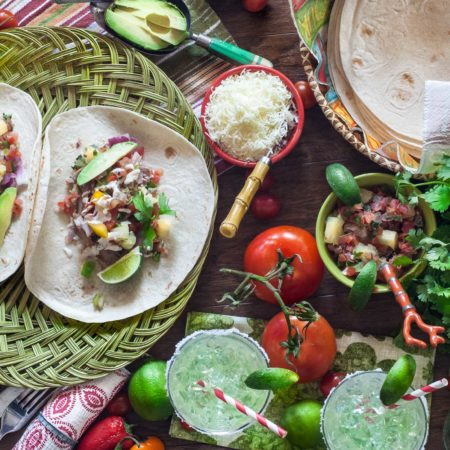 My Pulled Pork Tacos are just as easy as they are tasty.  (All photos credit: George Graham)