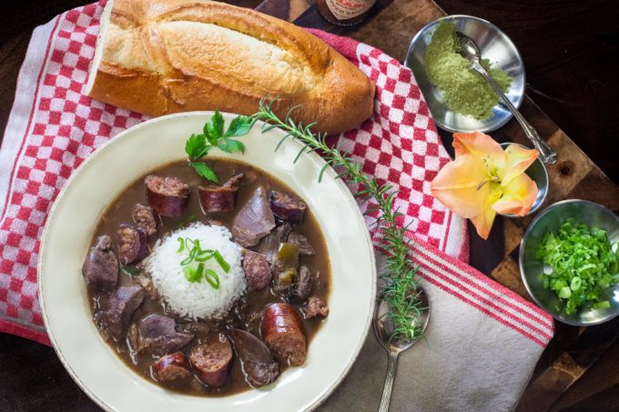 Wild Duck Gumbo—a duck camp favorite. (All photos credit: George Graham)
