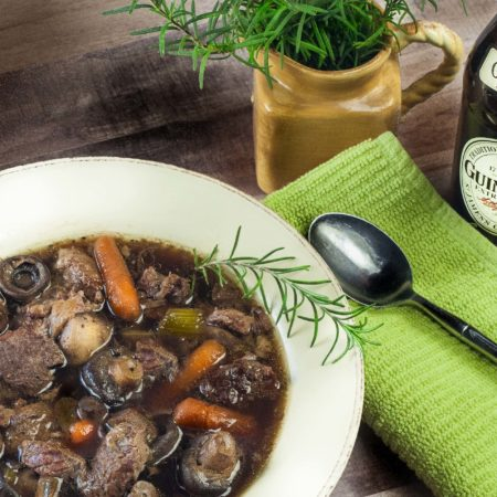 Guinness Beef and Mushroom Stew