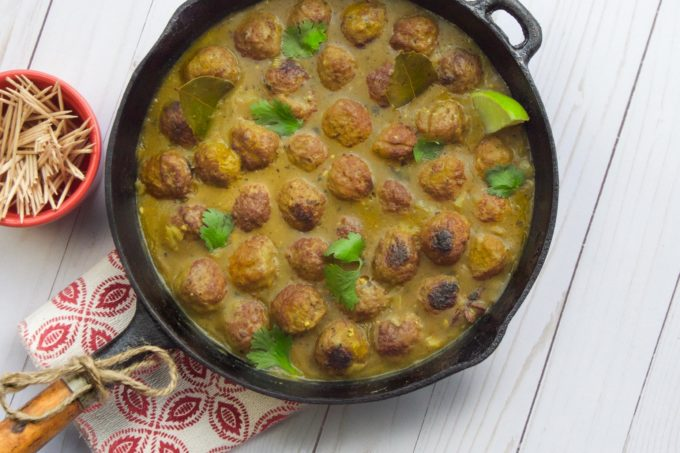 Asian spices infuse these meatballs for a unique party dish. (All photos credit: George Graham)