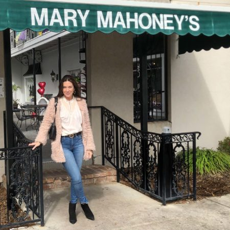 On Hwy 90 in Biloxi, Mary Mahoney's is a culinary trip back in time.
